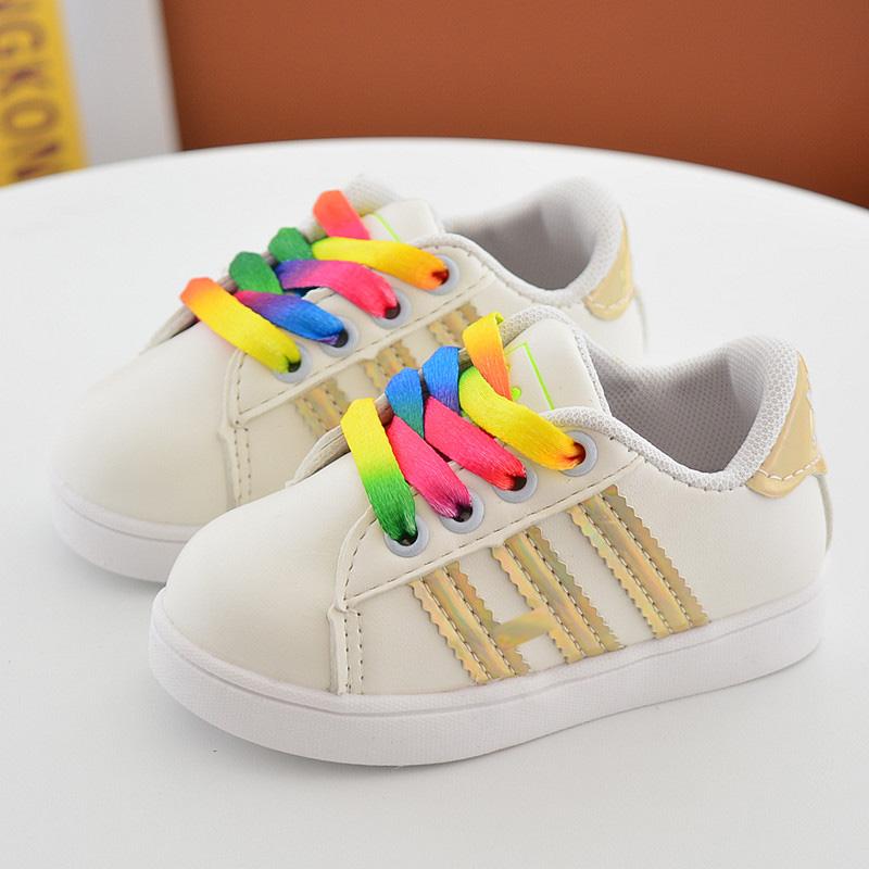 春夏季新款贝壳鞋儿童运动鞋男童女童鞋休闲贝壳头板鞋宝宝小白鞋