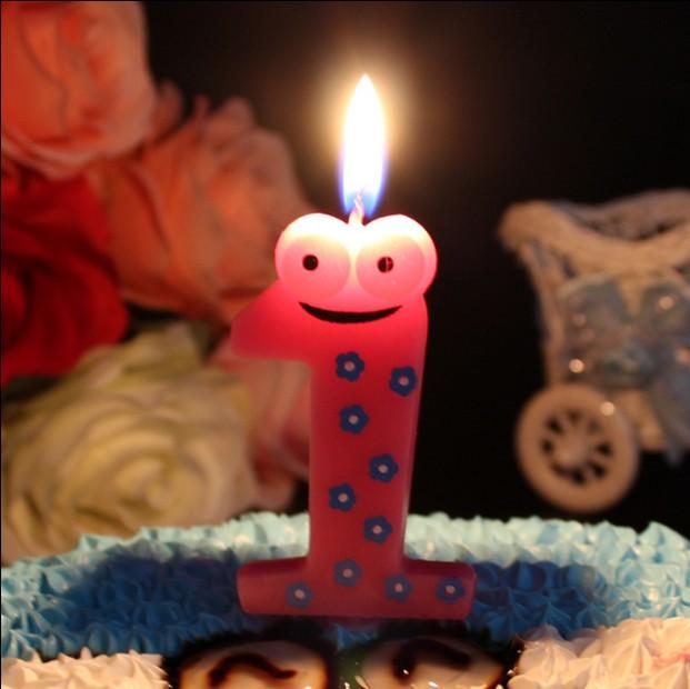 青蛙蠟燭數字1新款動物青蛙許愿蠟燭 兒童生日 寶周歲派對裝飾布置用品