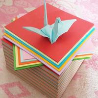paberi -, rose rose origami väljakul 15*15cm origami laste armastus 726