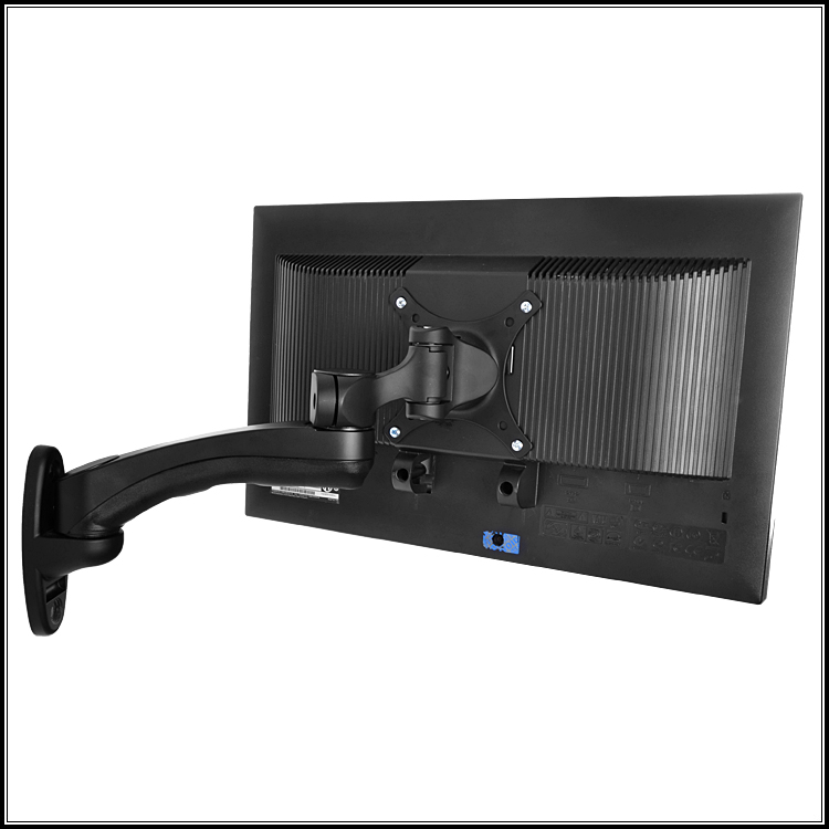 WMA-300 industrial wall hanging LCD computer display bracket universal rotary dual bed Dell