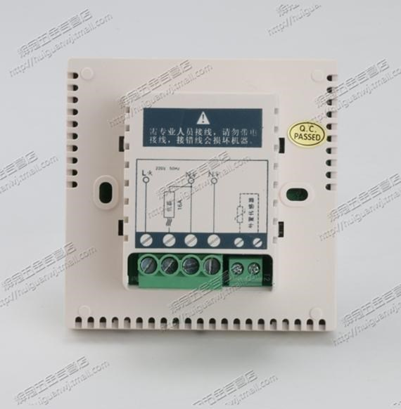 Electric floor heating thermostat, electric heating thermostat, geothermal heating equipment, infrared geothermal membrane water heating