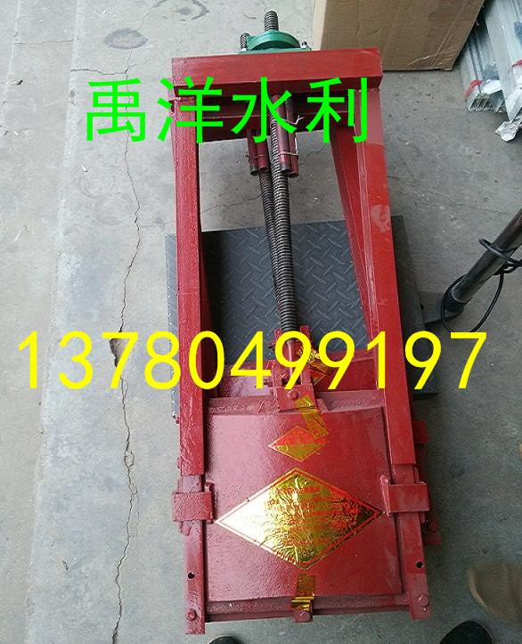 De fabrikanten de poort openen en sluiten van de rubber sluiting / - poort is een ijzeren poort 0.3*0.3 poort.