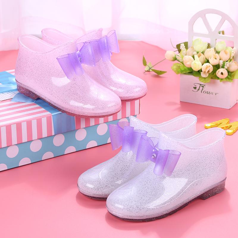 兒童雨鞋防滑男童女童雨靴公主中大童小孩小學生寶寶水鞋水靴膠鞋