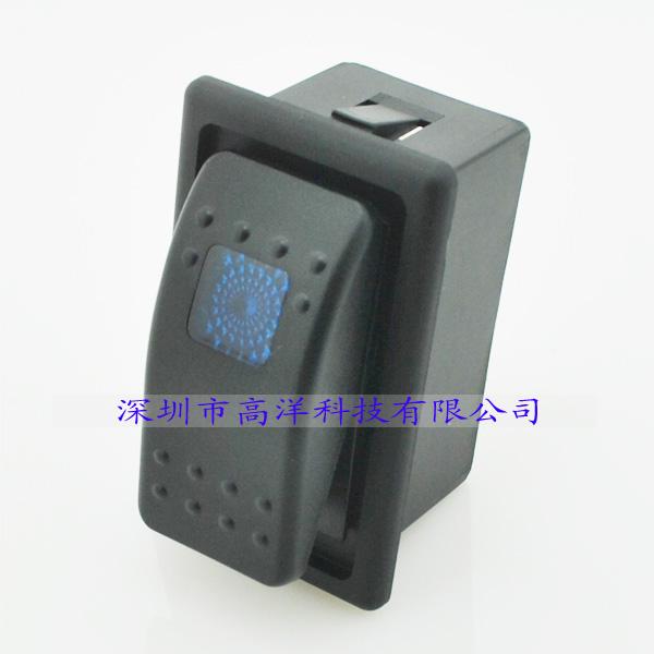 自動車LEDランプスイッチをDC12V20A24V10A船舶ヨット翘板スイッチ大きなボタンスイッチ