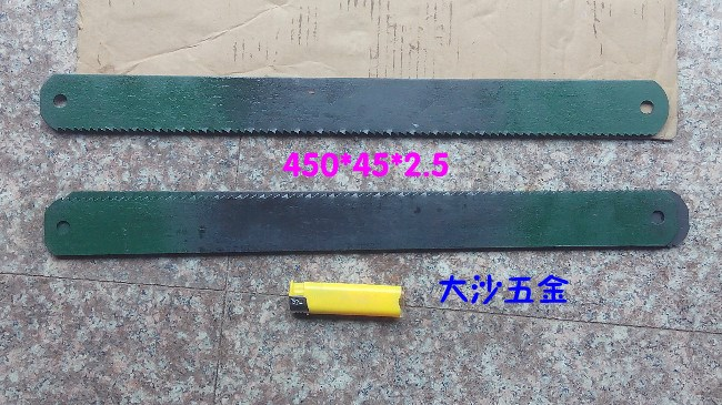 The old W6 450*38*1.8 front hacksaw hacksaw blade, steel saw blade steel machine 3505 peak