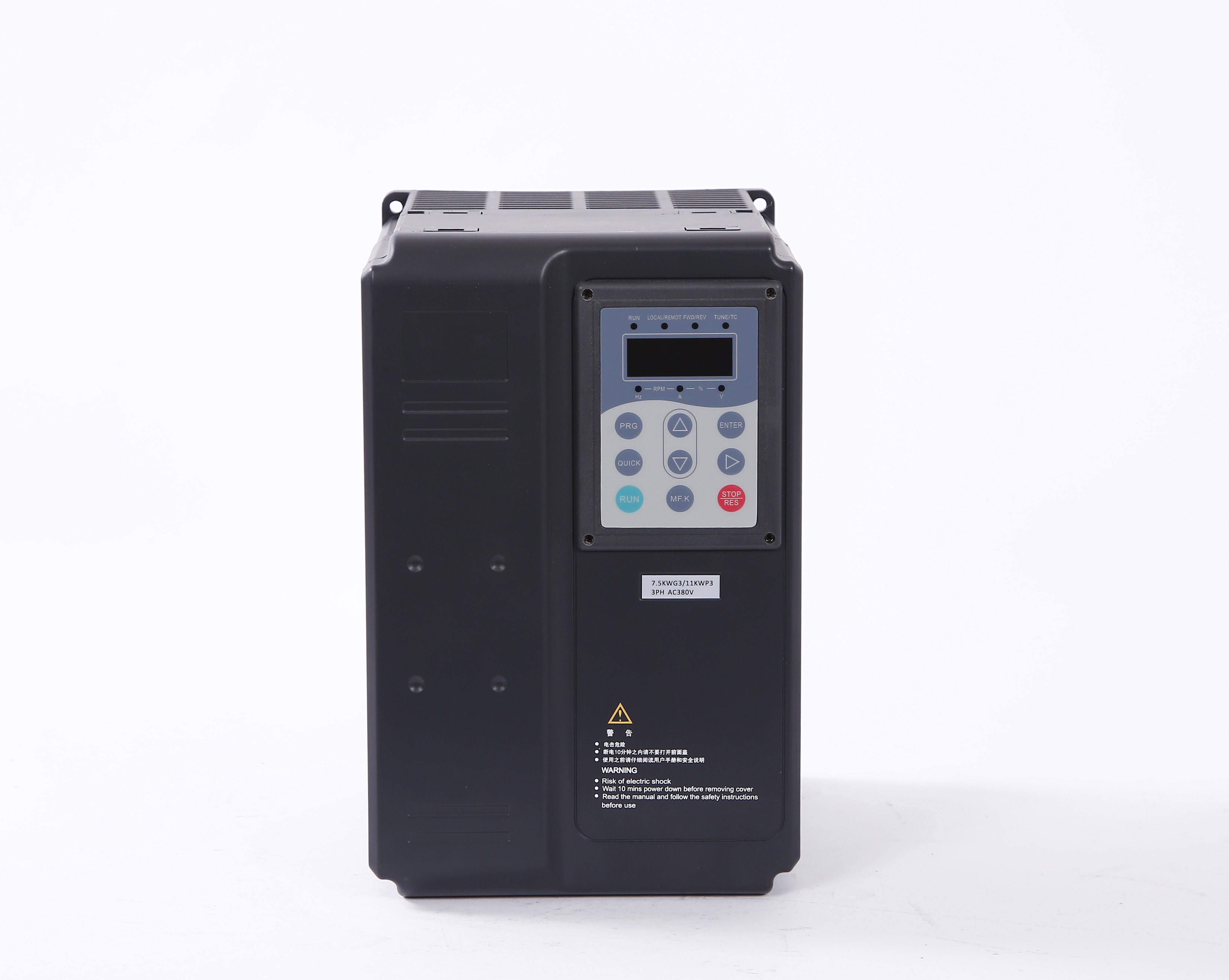 Frequency converter 380V7.5-11KW1518.5kw22-30-37-45kw three phase vector motor tuning