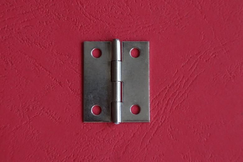 La scatola dei gioielli di Acciaio inossidabile Hardware autentico Sacchi Piccoli punti cardine della Porta di commercio all'Ingrosso di 1 pollice e mezzo cardine del Commercio all'Ingrosso