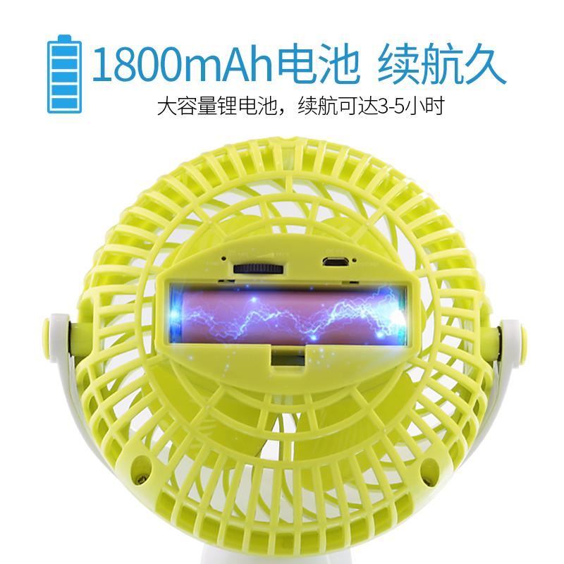 Baby car, mini fan, plastic wireless fan, small fan, large wind platform clamp, mini rechargeable