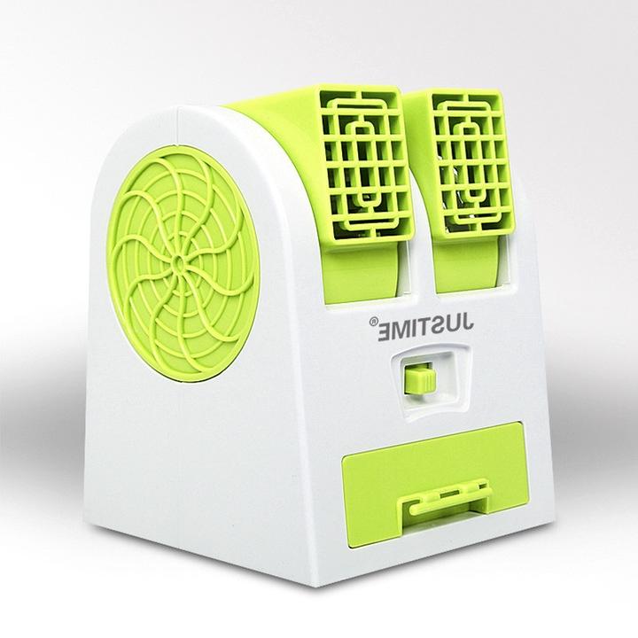 Italia in miniatura di Mini - portatile Elettrica dell'Acqua di refrigerazione a bordo del dormitorio Piccoli impianti di condizionamento dell'Aria del ventilatore un ventilatore di raffreddamento Mini USB