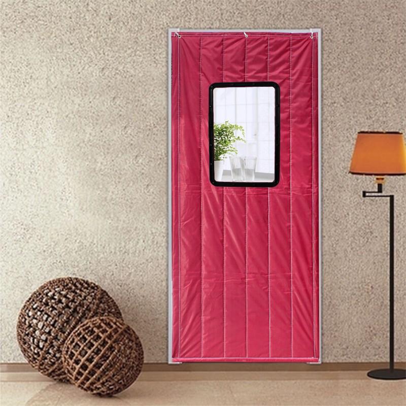 In de winter van katoen op de deur van het verbrede warm in de winter en de geluidsisolatie van airconditioners voor huishoudelijk gebruik van wind en koud.