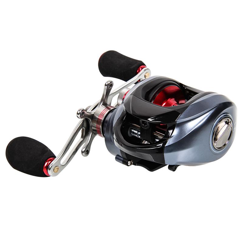 Casa Nova com DW1000 até 11 eixos de Roda Direita / esquerda freio magnético de gotas de água 亚轮 carrinho de pesca.