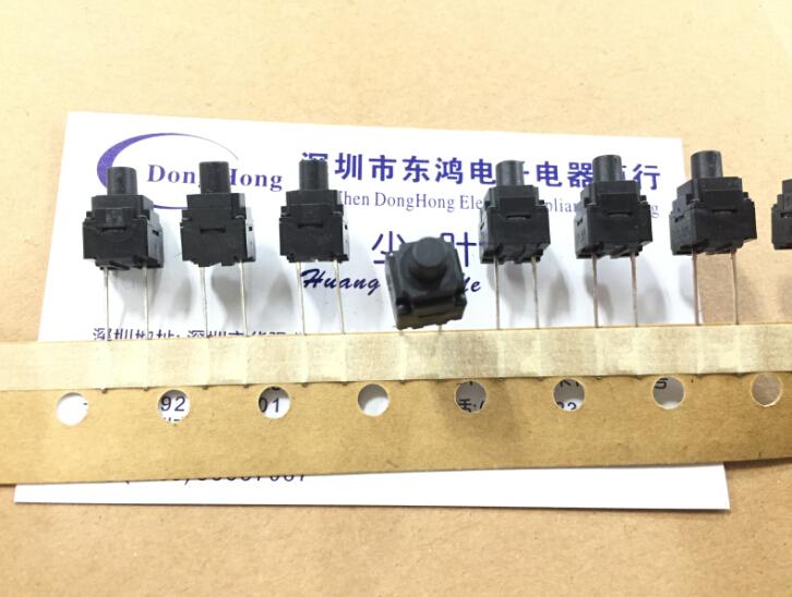 Resistente al polvo B3WN-6005 omron omron japoneses de 8 * 8 * 13 de tocar un botón interruptor dos alfileres