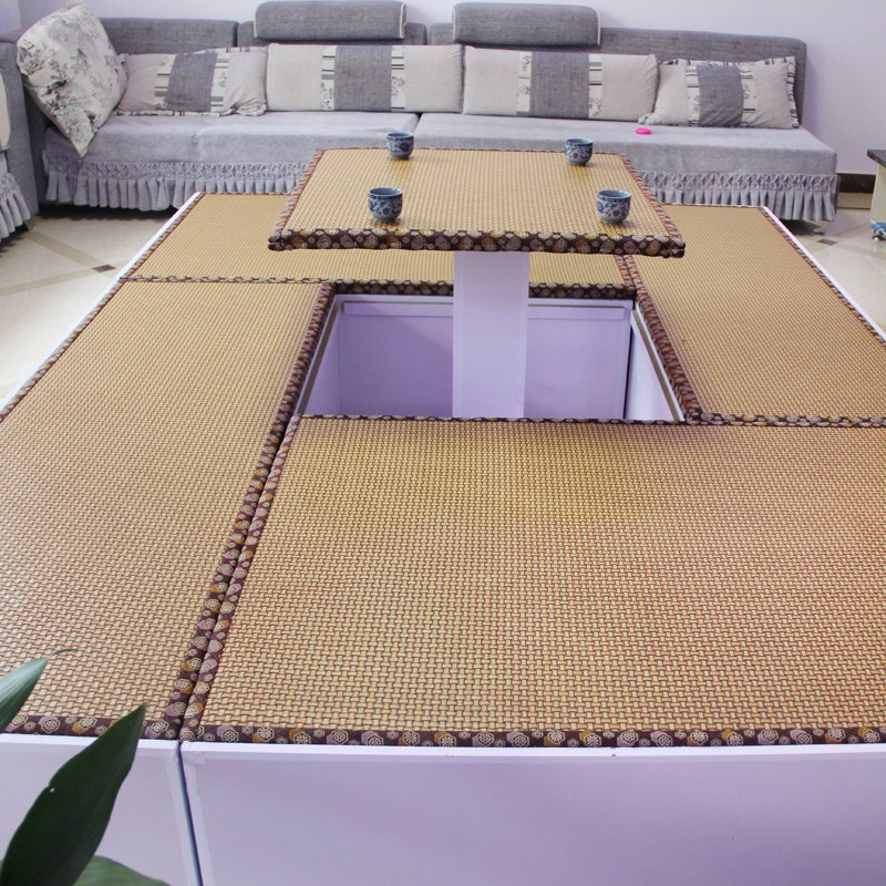Custom coconut straw tatami mat room core straw mat mattress pad Kang