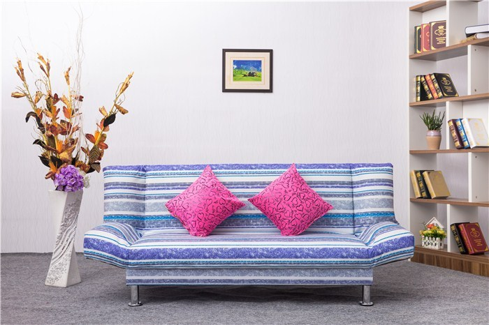 Sofa bed, multifunctional small apartment, folding sofa bed, 1.8 meters, two person simple cloth sofa