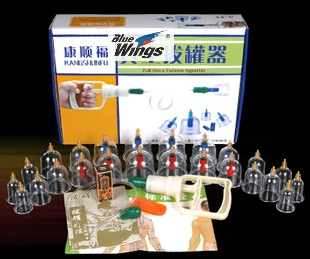 Cupping 24 6 Kang Shunfu vacuum cupping 24 cans of thickened pumping type cupping therapy home
