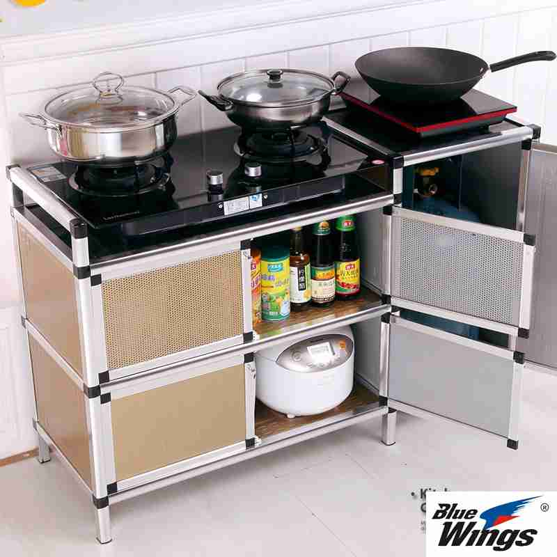 The living room cabinet cabinet cabinet cupboard cupboard tea stove is easy to rust in the gas tank is not the kitchen sideboard steel cabinet