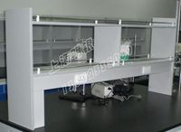 Test bench / test bench, reagent stand, side table reagent rack, drug rack, central platform, reagent rack