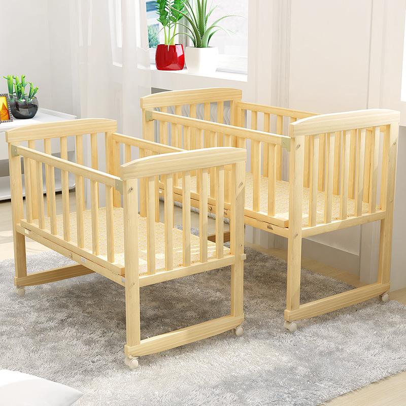 赤ちゃんベッドは、ベッドのベッドには、ガードレールのガードレールのガードレールの1メートルの小さい男の女の子と少女のシングル
