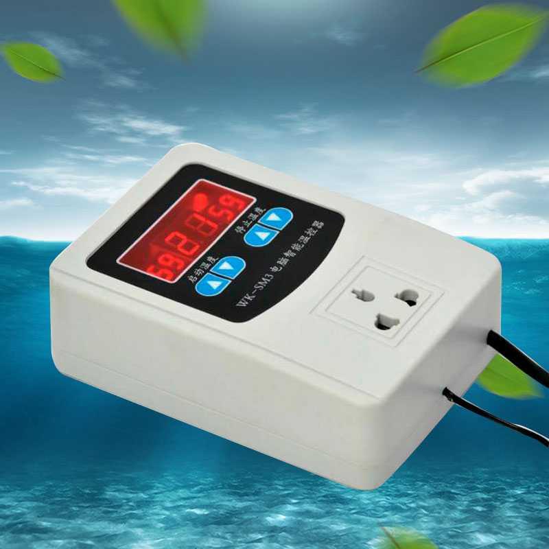температурата на хладилника, смени интелигентни регулируема температура подово отопление водоподгревател автоматично цифров дисплей с климатик, регулатор на температурата