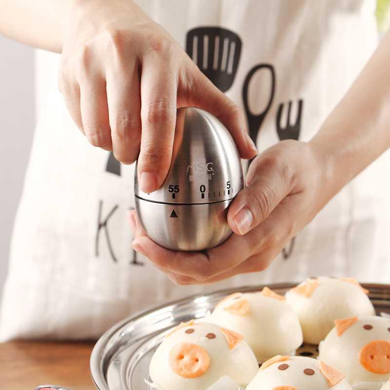 Een nieuwe wekker 2017 van roestvrij staal voor de studenten de timer aan huishoudelijke mechanische bakken keuken gadget