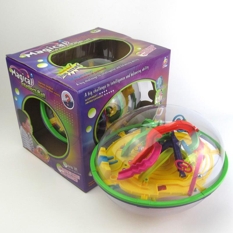 Labirinto Labirinto Bola brinquedo OVNI 3D inteligência inteligência brinquedos Bola mágica.