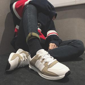 货足新款潮流运动休闲鞋韩版百搭板鞋学生跑步潮男鞋子X718