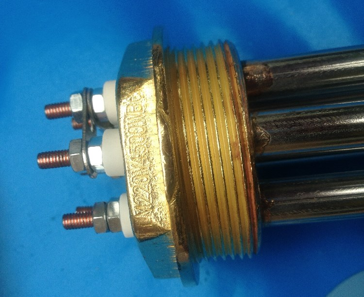 La Caldera de vapor 52mm calentador de vapor de calefacción eléctrica con tubo de calor tubos de calefacción 220V / 3 / 6 / 9KW