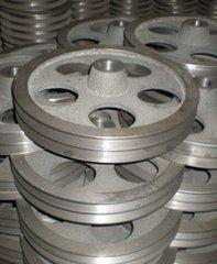 La vente directe de type B de trois usines de rainures triangulaires de la poulie à courroie de fonte de disque / 3B120-600mm (vide)