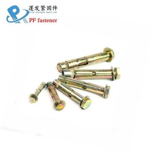 Cone nut pull explosion six hexagon head expansion screws flat type expansion bolt sleeve expansion screws M6M8M10M12
