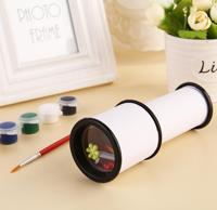pakke post små kreative materiale samles de manuelle opfindelse og istandsættelse af hjemmelavede vandfarve kalejdoskop børn
