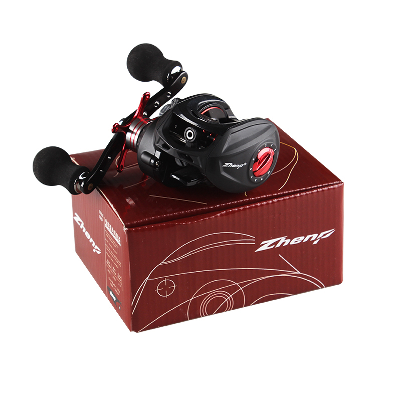 Drop shot round carbon metal anti fried line magnetic brake road Yalun special offer ultra light raft fishing wheel
