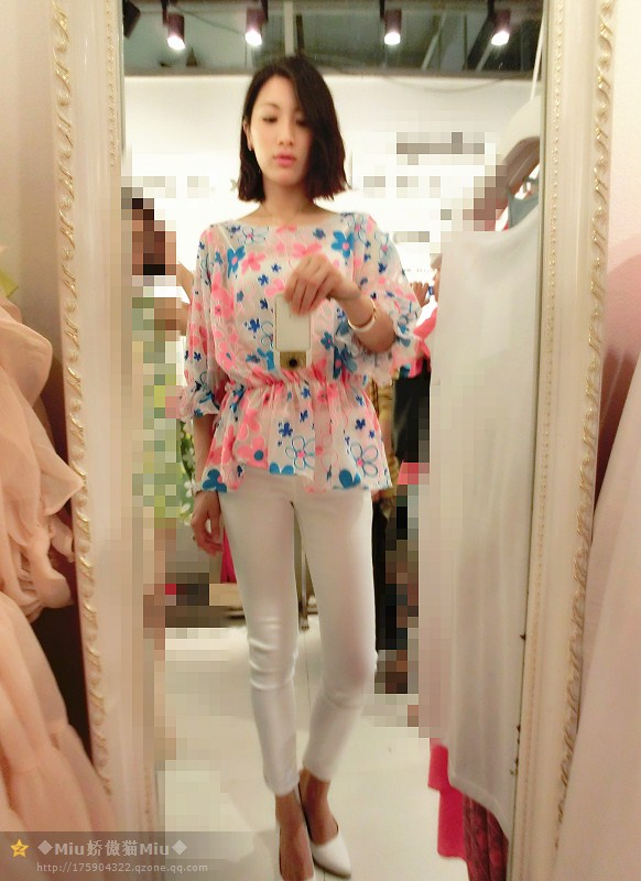 2014新款女鞋 独家玫粉色尖头高跟鞋 细高跟OL职业鞋图片_9
