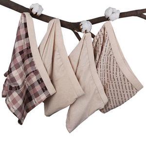 天天特价 4条装 有机彩棉男士内裤 印花纯棉透气平角内裤