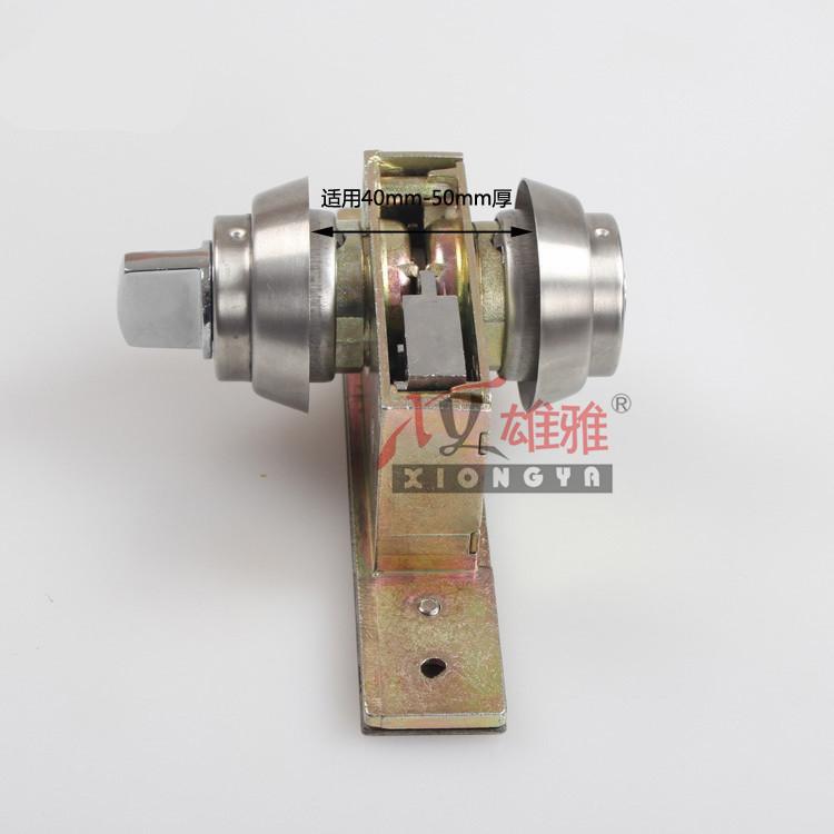 قفل قفل الزجاج 301 مع الإطار الفولاذ المقاوم للصدأ الباب قفل قفل باب قفل باب سبائك الألومنيوم قفل الباب