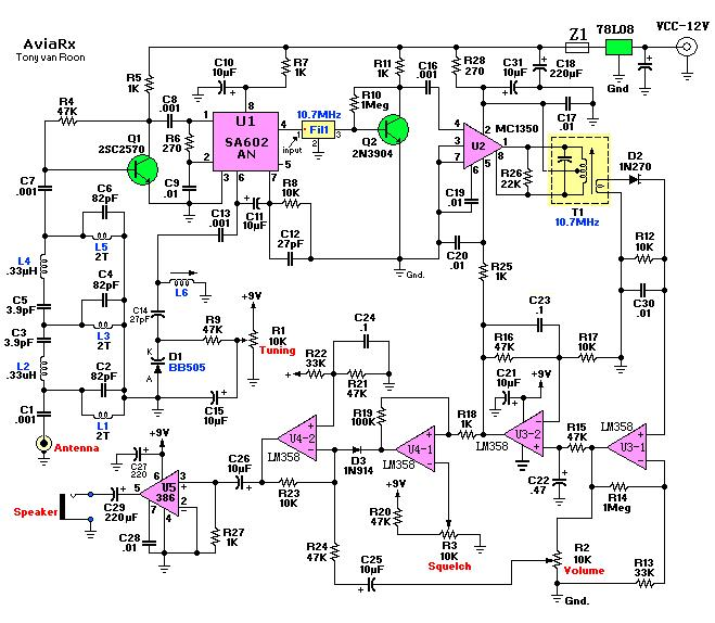 Radio Tuner Schematic together with Fun with crystal oscillators part 3 in addition The Krc 2 Shortwave Regenerative Receiver Kit furthermore Simple Am Radio Electronic Circuits And Diagram Electronics together with Schematics. on shortwave radio schematics