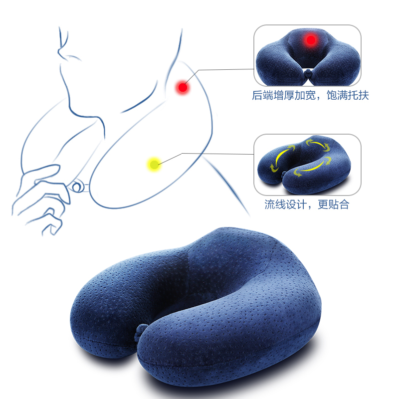 a nyak párna - u - 药枕 egészségügyi mikró fűtött nyakpárnát shell ellátás selyem u alakú párna.