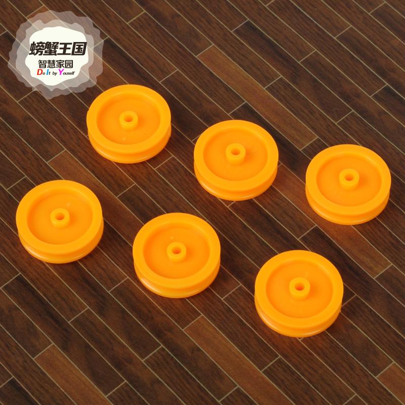 раци кралство макара колан с диаметър 16.8mm пластмасови оранжев колан