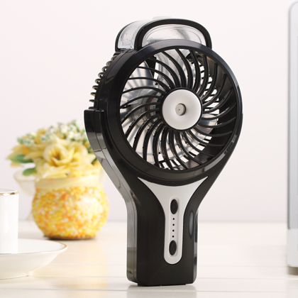 Mini spray fan humidification, small convenient air conditioning, student dormitory charging, beauty, refrigeration, Fan USB