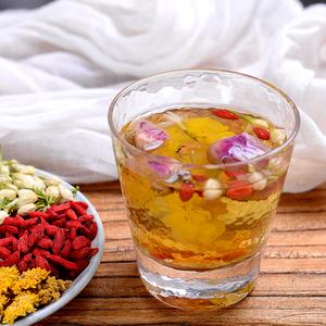 玫瑰花茶组合菊花茉莉花枸杞牡丹花女人泡水喝的饮品水果茶叶袋装