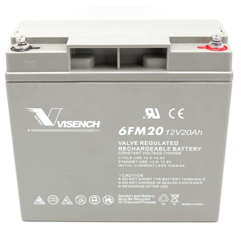 VISENCH / Wei Dios UPS12V20AH batería libre de mantenimiento de acumuladores de plomo de tres años de garantía
