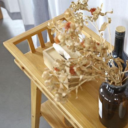 朴作实木阳台花架落地多层绿萝吊兰多肉客厅简约现代北欧木质新品