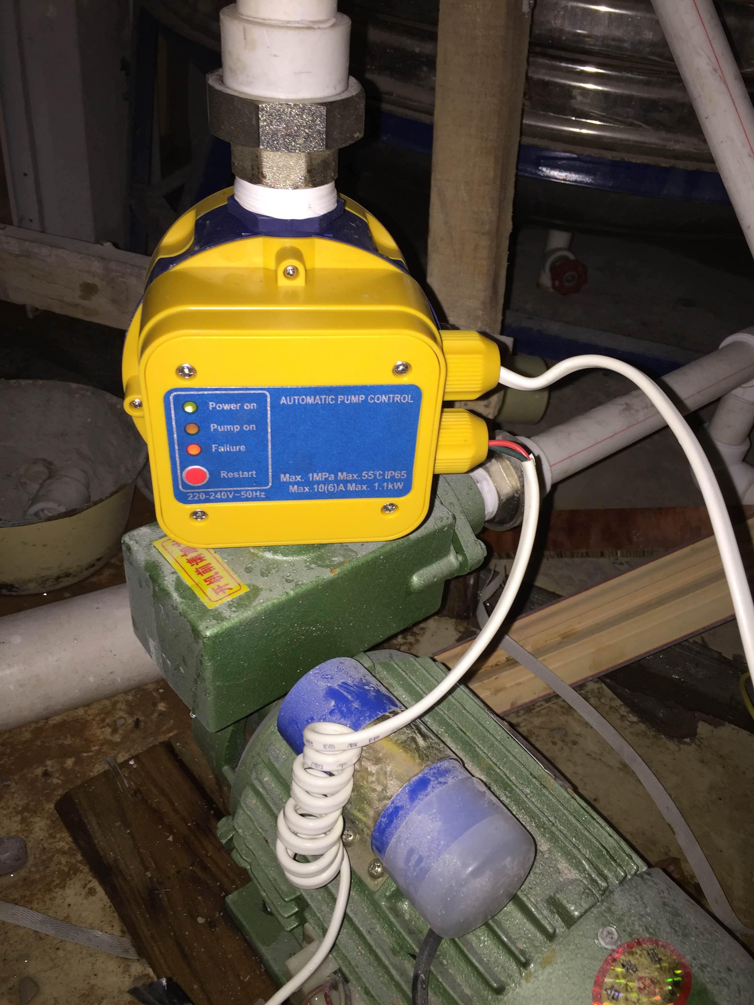不足圧力制御器の電子的な圧力スイッチは全自動制御器