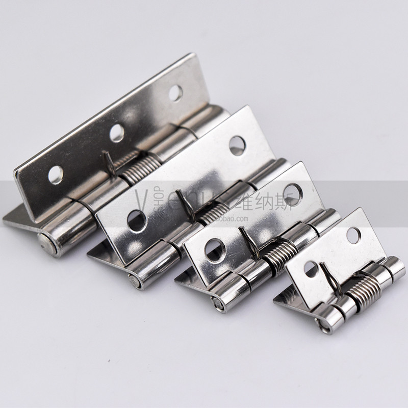 1 inch 1.5 inch 2 inch 2.5 inch stainless steel 304 spring hinge hinge automatic closed back wooden box small hinge