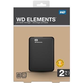 Les données de l'Ouest (WD) ElementsPortable2.5 pouces disque dur mobile USB 3.0 2tb