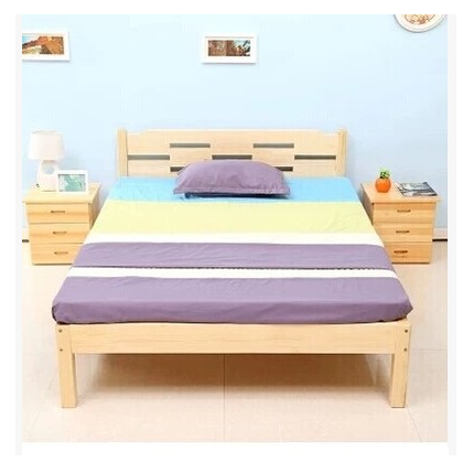 New children bed double bed single bed loose bed of pine furniture m children bed