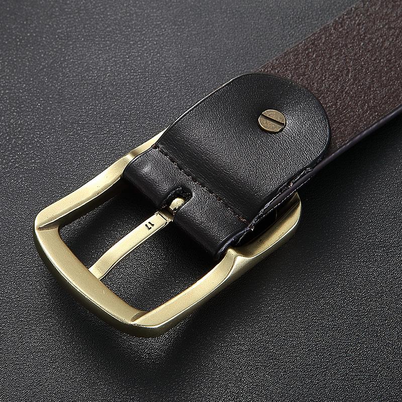 プレイボーイベルト男は、ジーンズのベルトと、シンプルなカジュアルな休閑には、純粋な牛皮
