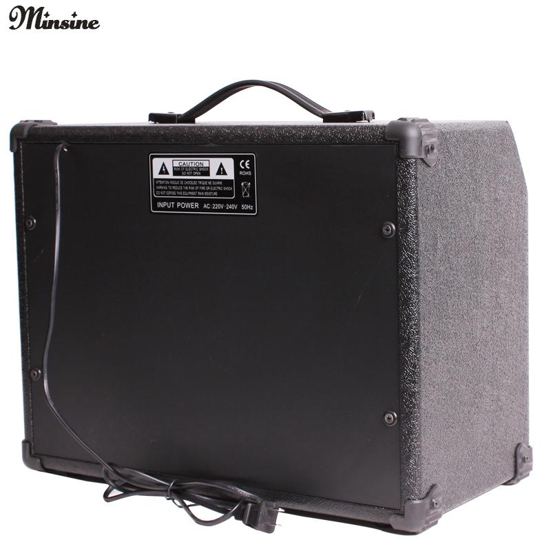 El nombre de Sen 40w de guitarra eléctrica de 40 vatios de sonido el sonido de la guitarra de caja con tres guitarras de entrada para micrófono