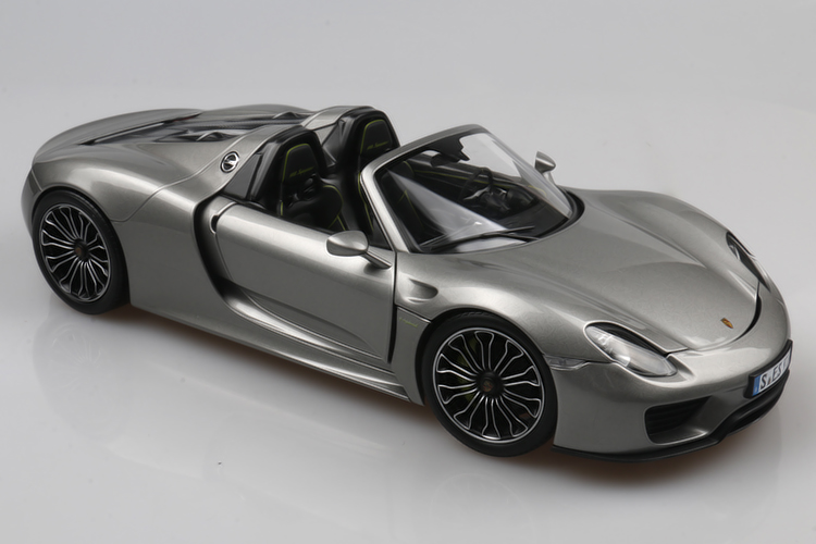 1 18 dealer edition porsche 918 spyder die cast model ebay. Black Bedroom Furniture Sets. Home Design Ideas