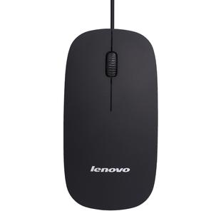 联想鼠标Lenovo有线超薄 静音无声 办公笔记本台式电脑男女生通用