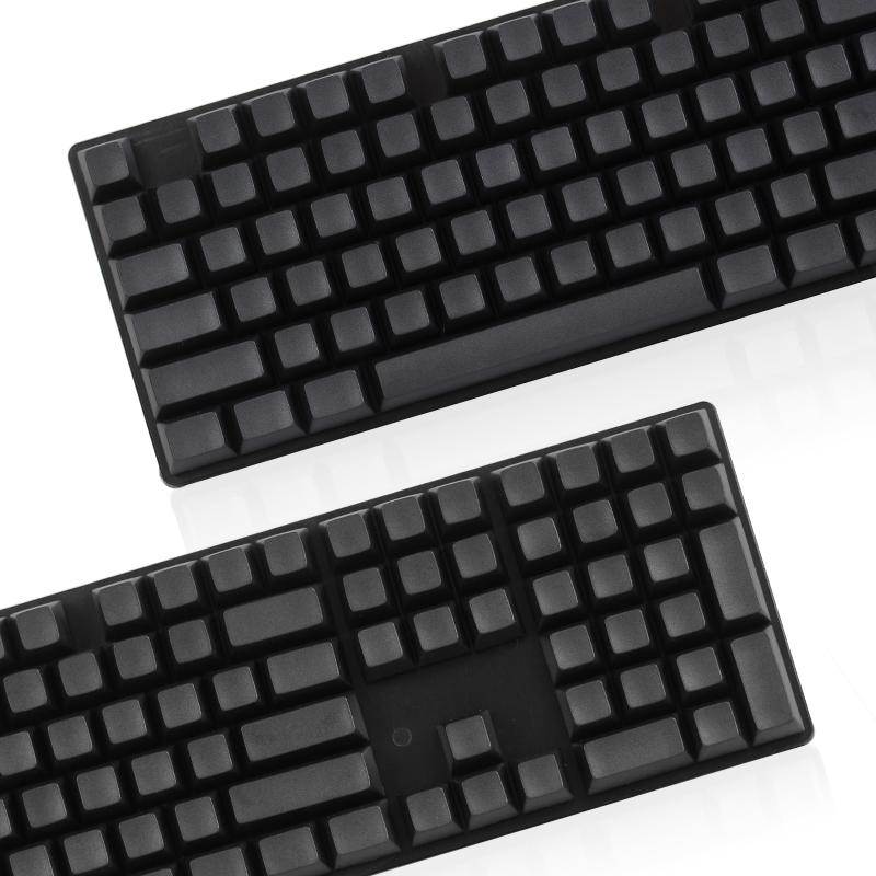 POM teclas Preto todo original de fábrica 1.75shift 104 teclas mecânicas cherry customização de teclado
